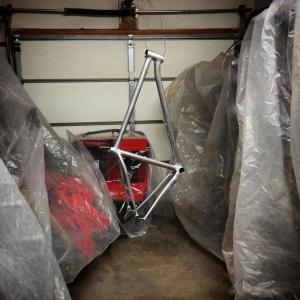 Paint Setup in Garage
